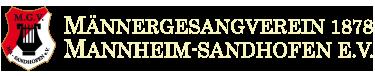 MGV 1878 e. V. – Mannheim-Sandhofen – Chor – Männerchor – Gesangverein – Singen